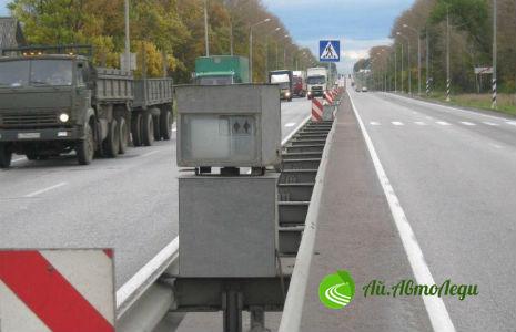 Белорусская ГАИ рассказала о местоположении камер на дорогах