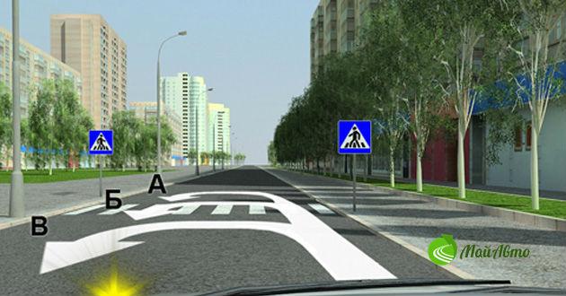 Правильный разворот в различных дорожных ситуациях
